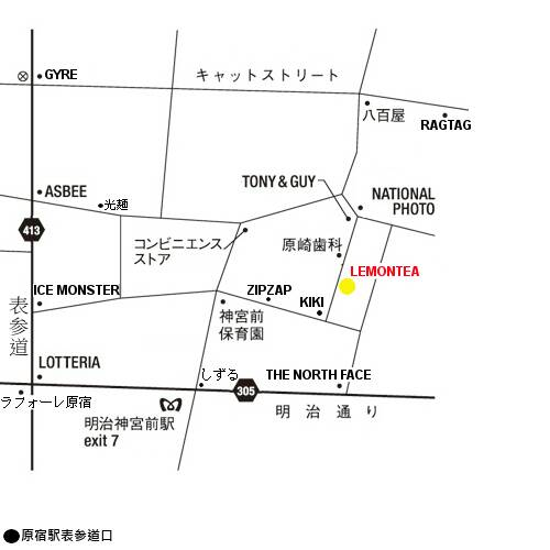 LEMONTEA 地図